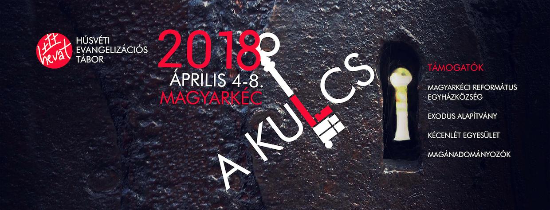 HEVAT '18 – április 4-8 – A KULCS